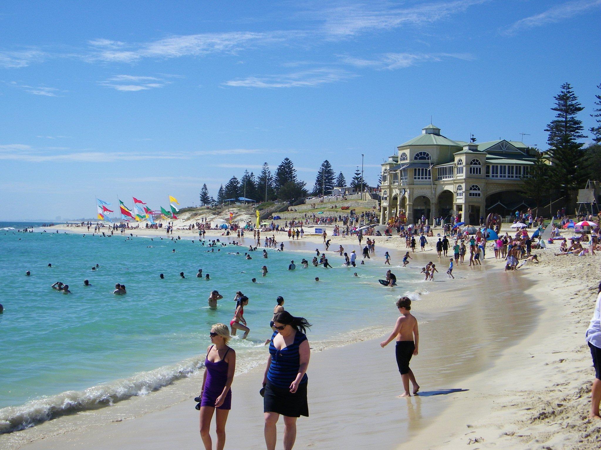 """Perth nơi """"hội tụ"""" rất nhiều bãi biển đẹp"""