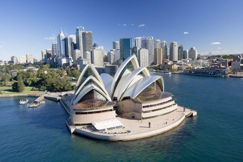 Nhà hát con sò Opera ở Úc