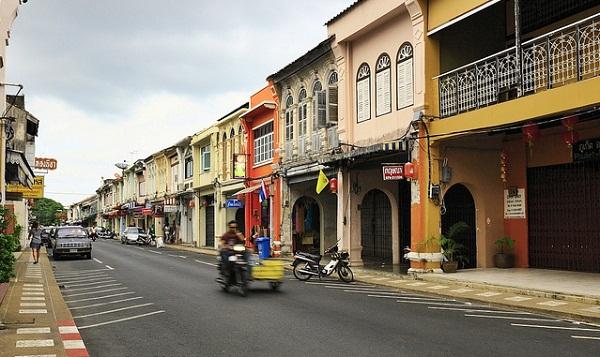 Phố cổ Phuket những ngày đông