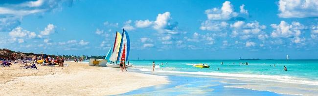 Bãi biển ở Cuba