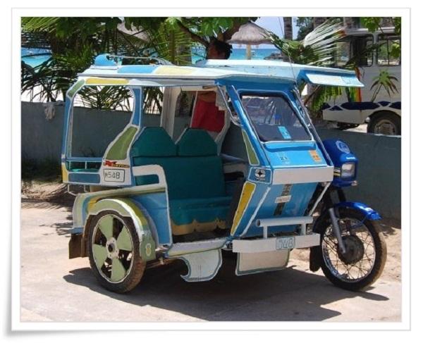 xe Tricycle (Xe ba bánh có motor)