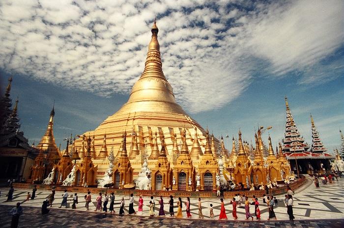Chùa Shwedagon được xem là Quốc bảo và niềm tự hào của Myanmar