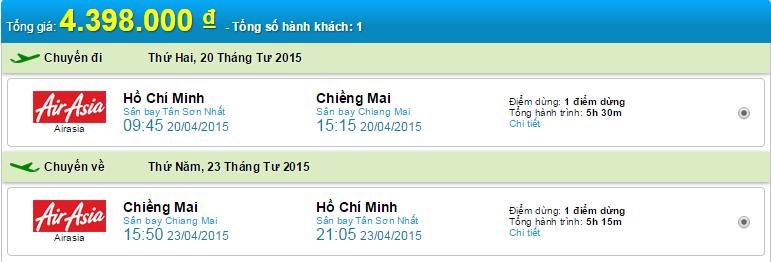 HCM-chiang mai