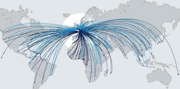 Mạng lưới đường bay Air France
