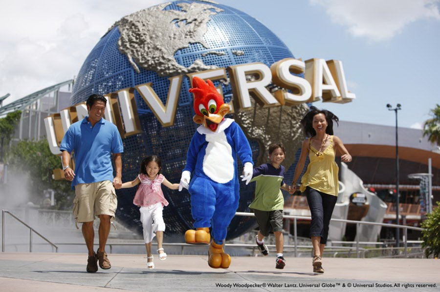 phim trường Universal Studios.