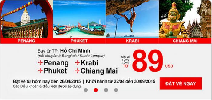 Một chương trình khuyến mại của Air Asia