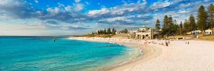 bãi biển Cottesloe ở Perth