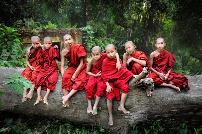 Ở Myanmar, không có nhà sư bằng nữ giới