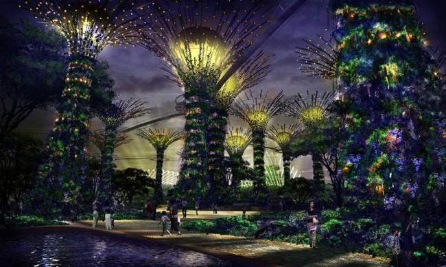 vườn thực vật Singapore