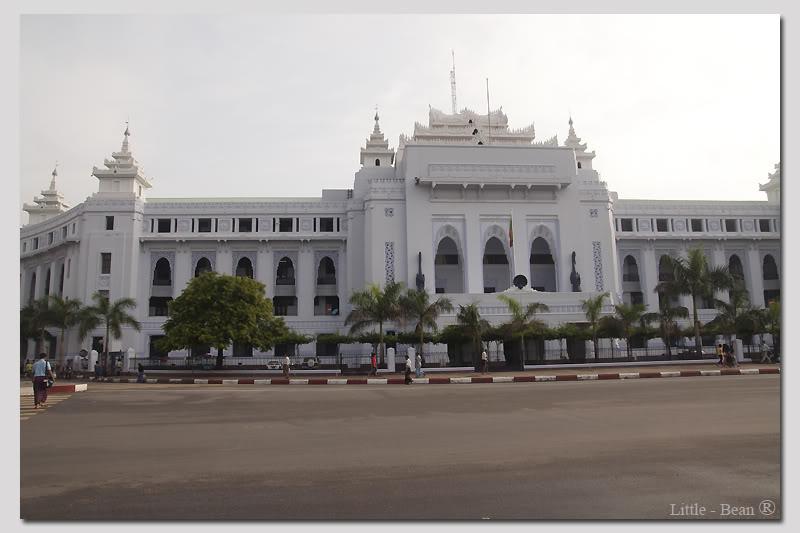 tòa thị chính Yangon