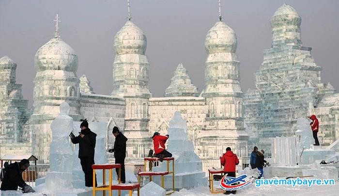 Băng tuyết ở Cáp Nhĩ Tân