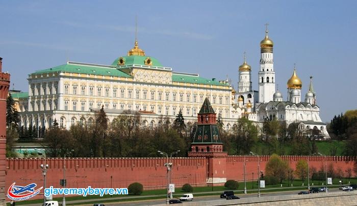 Điện Kremlin được dát vàng