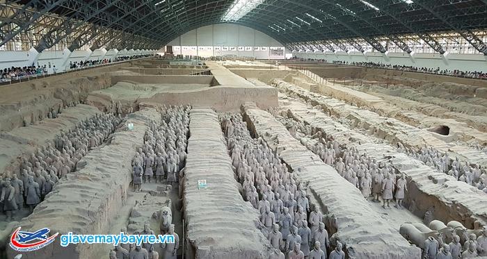 Lăng mộ Tần Thủy Hoàng rộng lớn