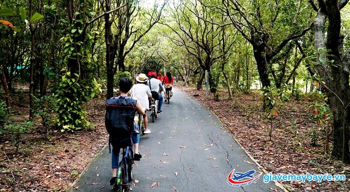 Đạp xe ở vườn quốc gia Bang Kachao