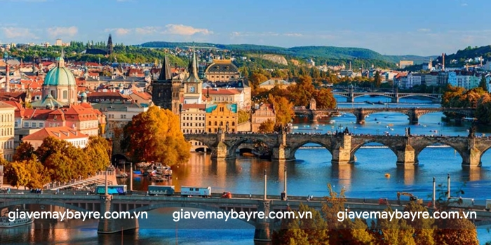Prague - thành phố của những cây cầu