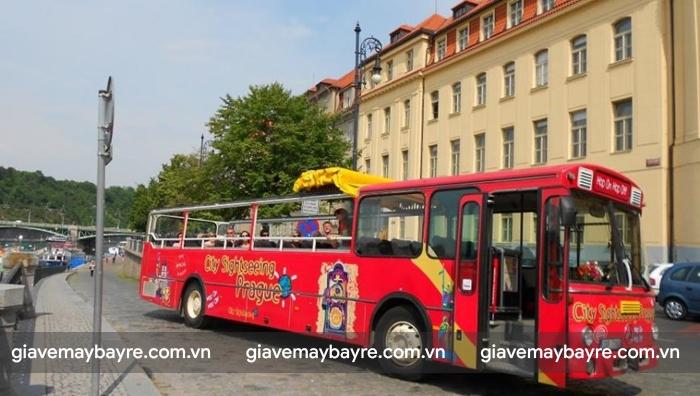 Bus ở Praha rất đặc biệt