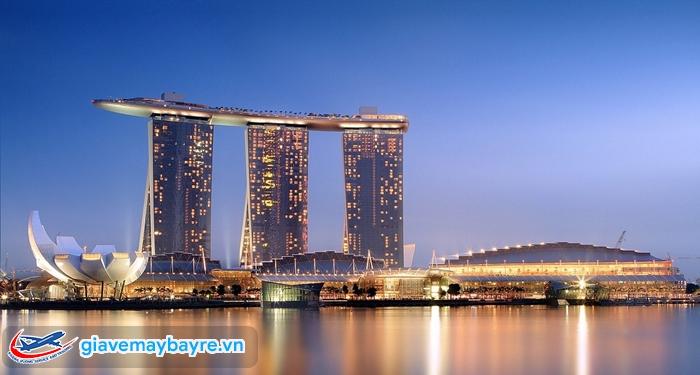 Marina Bay Sand - một trong những tổ hợp khách sạn hạng sang ở Singapore