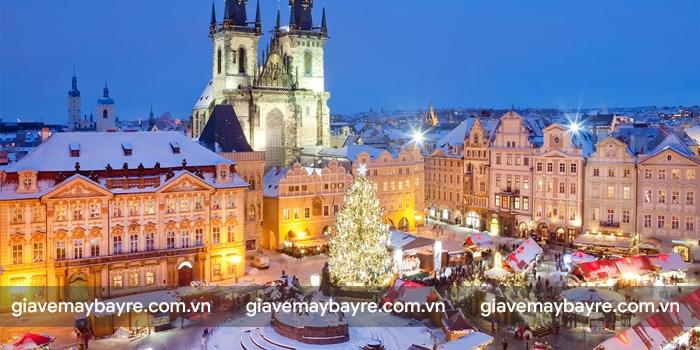 mùa giáng sinh ở Prague bắt đầu từ cuối tháng 11