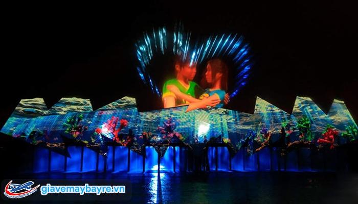 Các show diễn nhạc nước ở Sing được liệt vào loại cần phải xem