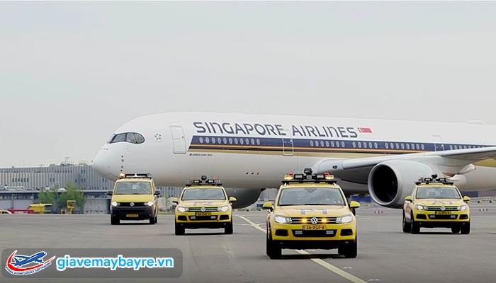 Di chuyển đến SIngapore bằng máy bay cực kì dễ dàng