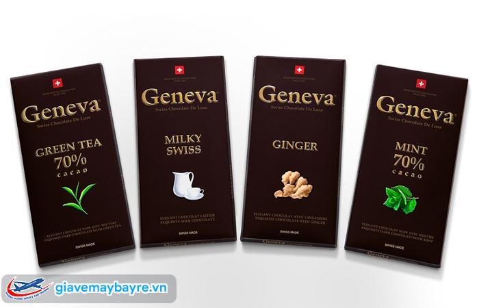 Chocolate với rất nhiều hương vị khác nhau