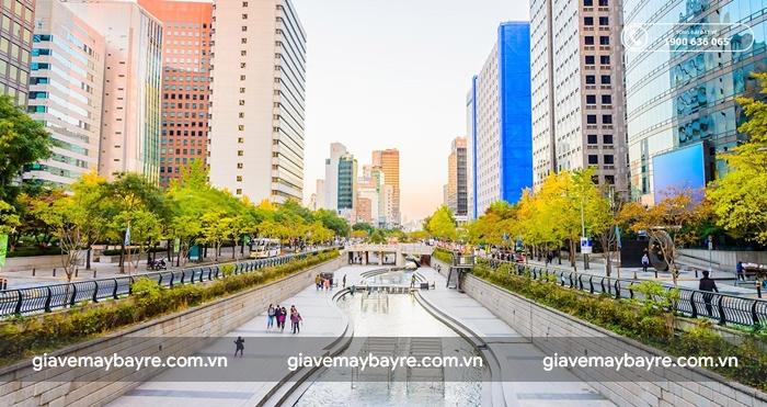 Hàn Quốc là địa điểm du lịch nổi tiếng mà ai cũng muốn đến