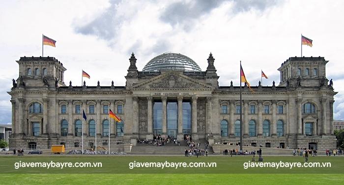 Reichstag - tòa nhà Quốc hội Đức
