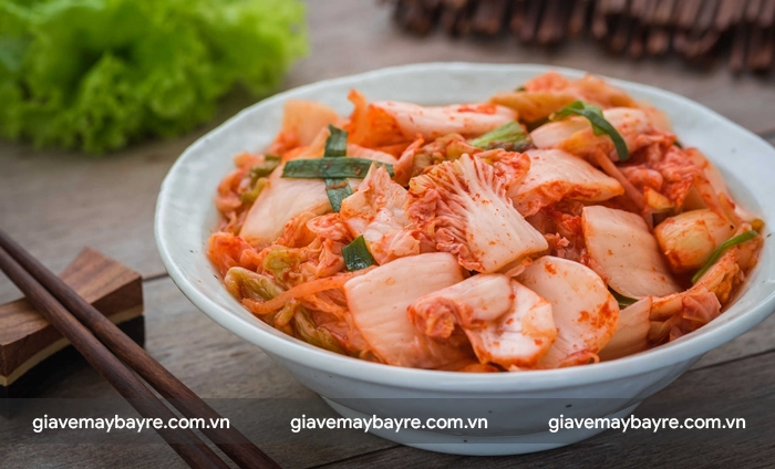 Kim chi - biểu tượng của ẩm thực Hàn Quốc