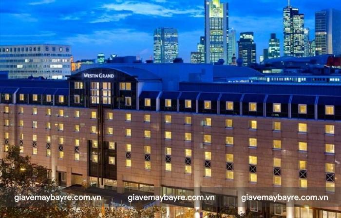 The Westin Grand Frankfurt - khách sạn 5 sao hàng đầu tại Frankfurt